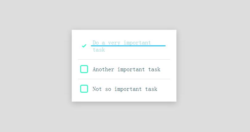 CSS3基于SVG复选框选中动画特效