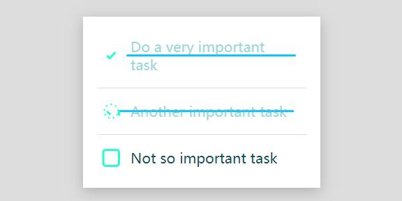SVG+CSS3复选框选中动画特效