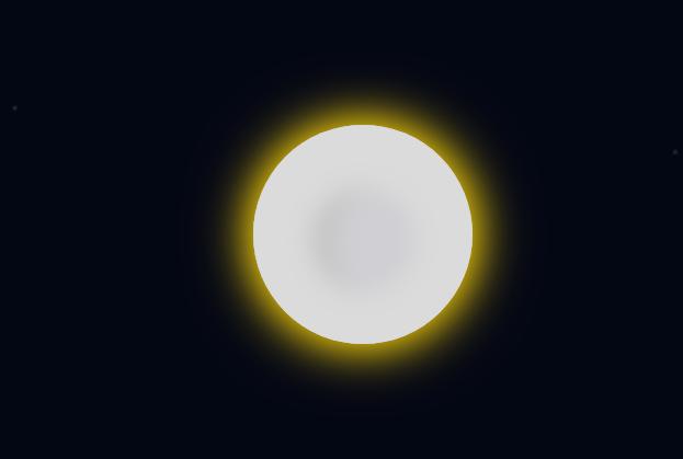 CSS3做的日食动画特效