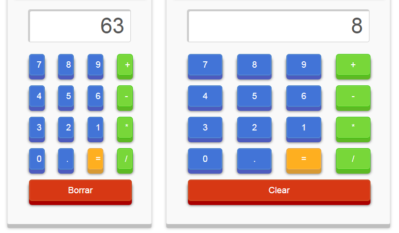 jQuery立体3d效果计算器代码