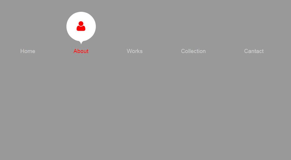 CSS3的气泡动画文字导航菜单代码
