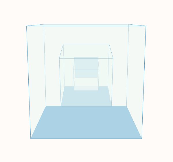 CSS3正方體的3D旋轉動畫特效