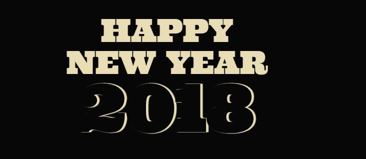 CSS3绘制2018新年快乐文字动画特效
