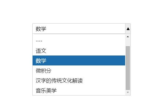 jQuery帶搜索過濾ajax加載下拉框插件
