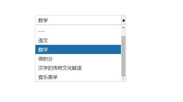 jQuery的帶搜索過濾ajax加載下拉框插件