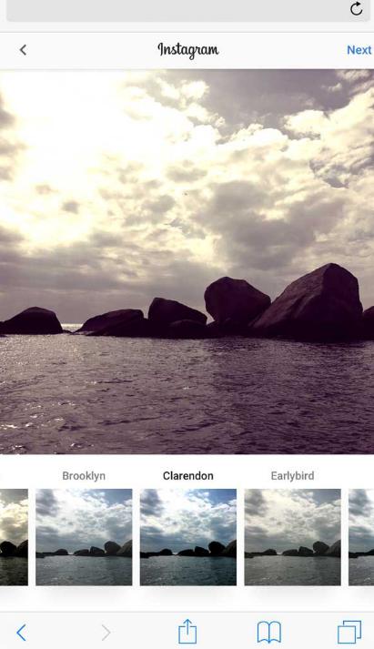HTML5手机移动端图片上传滤镜特效