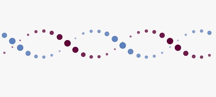 CSS3 DNA螺旋结构分子粒子动画特效