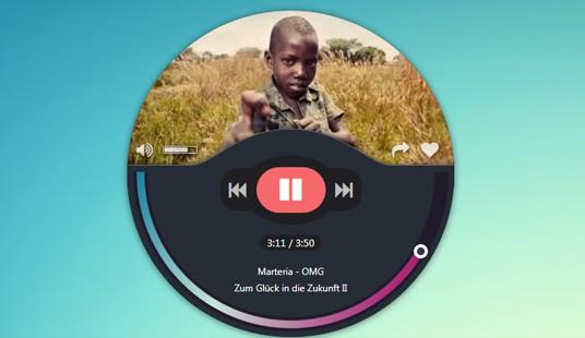 jQuery精致的音乐播放器代码