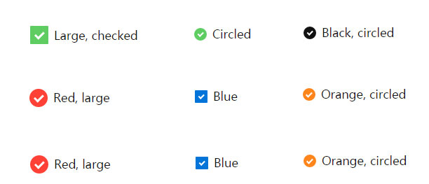 jQuery自定义美化复选框checkbox样式