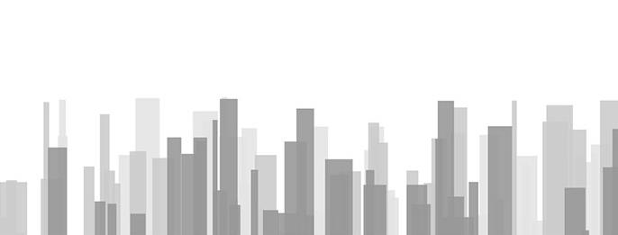 HTML5+Canvas高樓大廈城市建筑剪影動畫特效