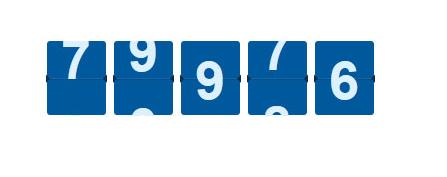 jQuery自定义数值数字滚动代码