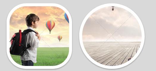 多款CSS3+H5鼠标悬停图片动画特效