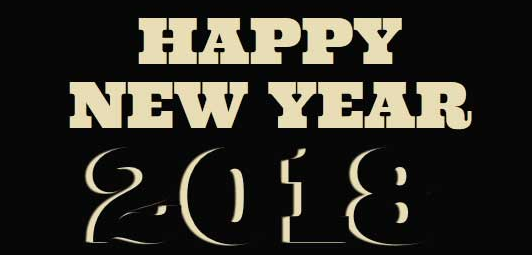 CSS3实现2018新年快乐文字动画特效