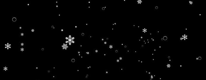 jQuery+three.js+CSS3雪花飘落动画效果