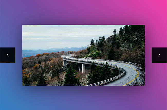 HTML5-响应式图片模糊切换特效