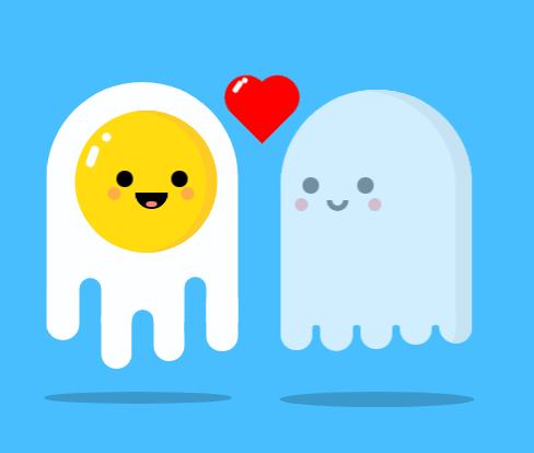 2019情人节纯CSS实现动态精灵示爱浪漫动画特效代码