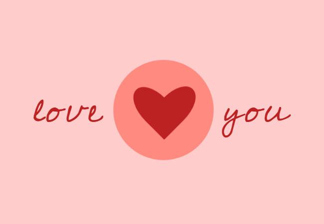 CSS3绘制心跳爱心动画特效