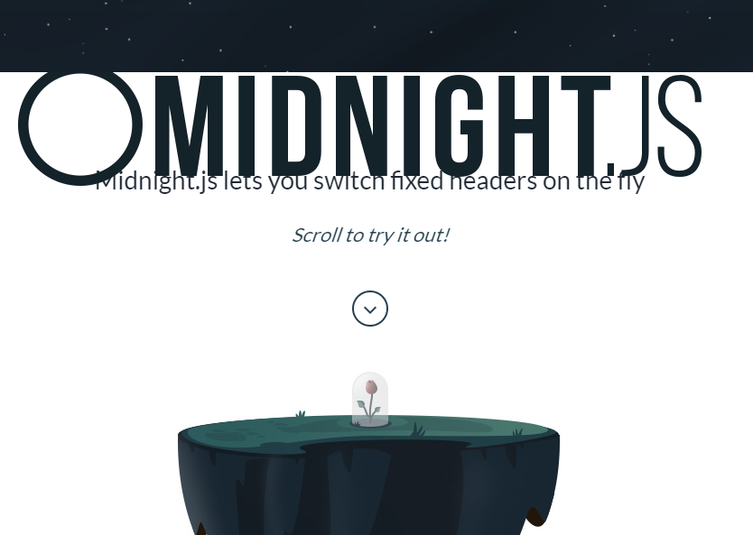 jquery固定标题控制插件Midnight.js
