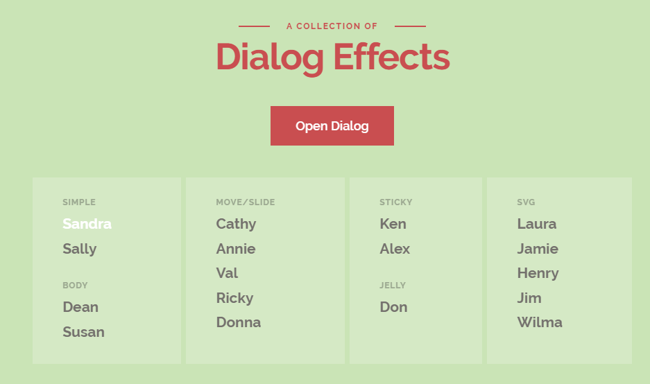 弹窗-DialogEffects