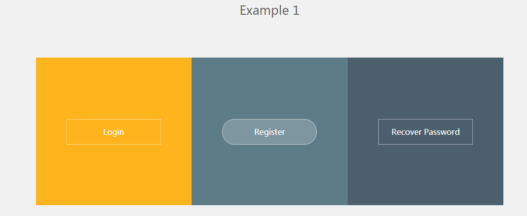 30种炫酷CSS鼠标滑过按钮效果