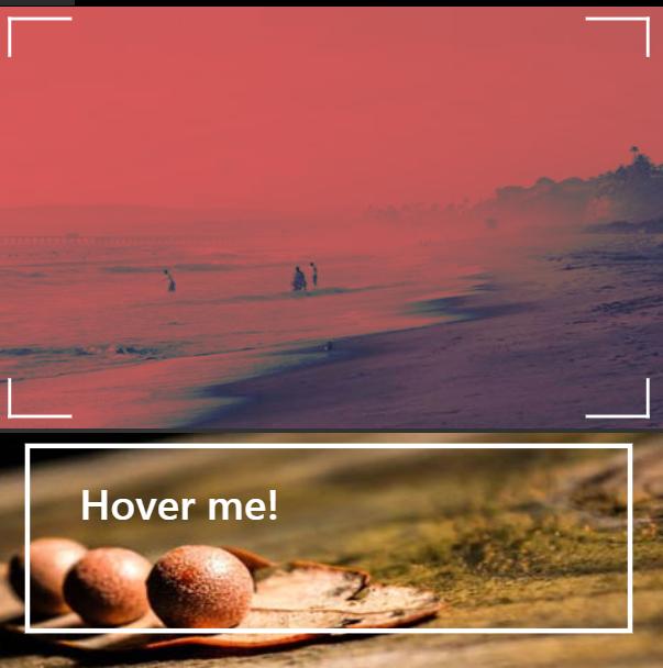 CSS3 blend模式制作的鼠标滑过图片标题特效