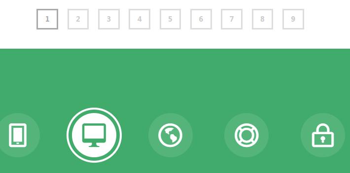 多种css3圆形按钮hover鼠标经过动画效果