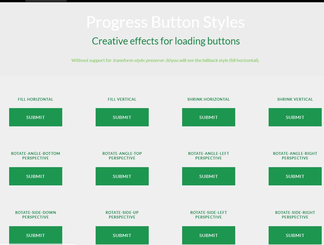 带有3D效果的进度按钮指示器ProgressButtonStyles