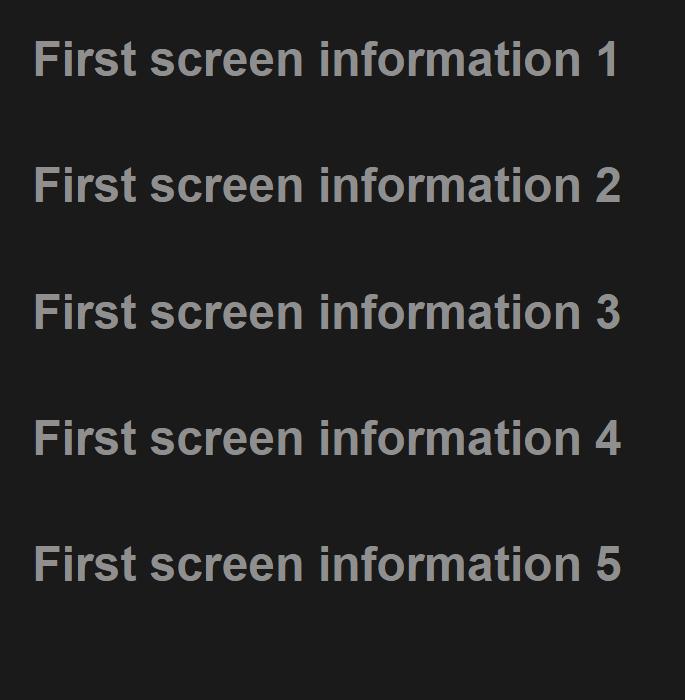 swiper实现手机上拉切换页面效果