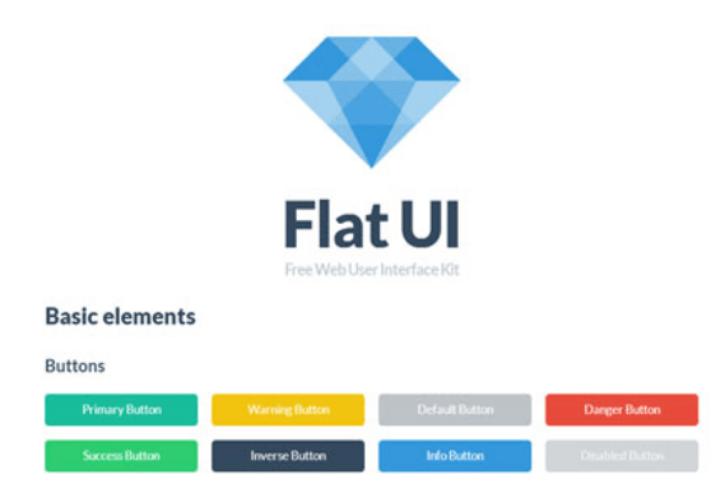 用户界面工具包-FLAT UI