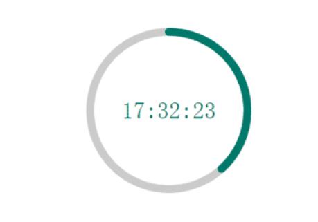 canvas的圆形进度条插件circle_JT