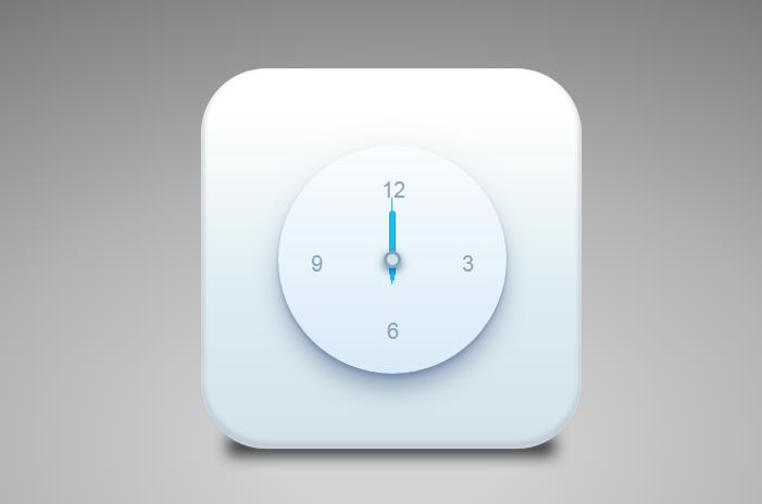 CSS3實現的鐘表UI效果