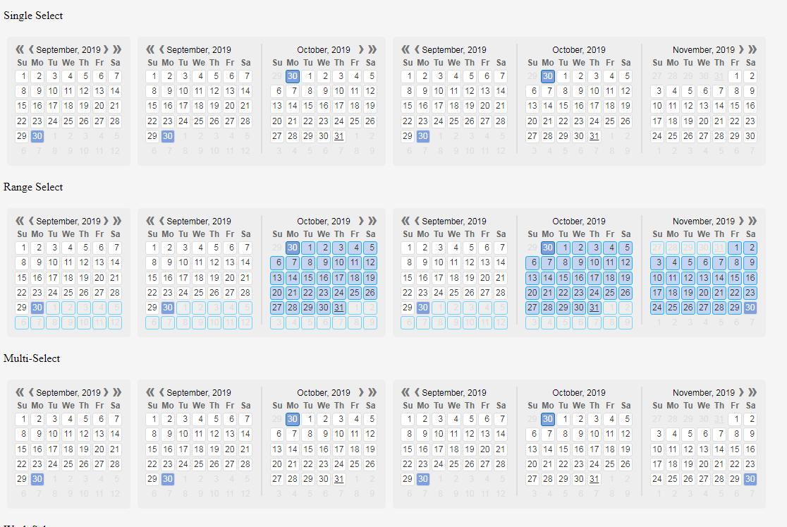 功能強大的JavaScript日期選擇控件Kalendae
