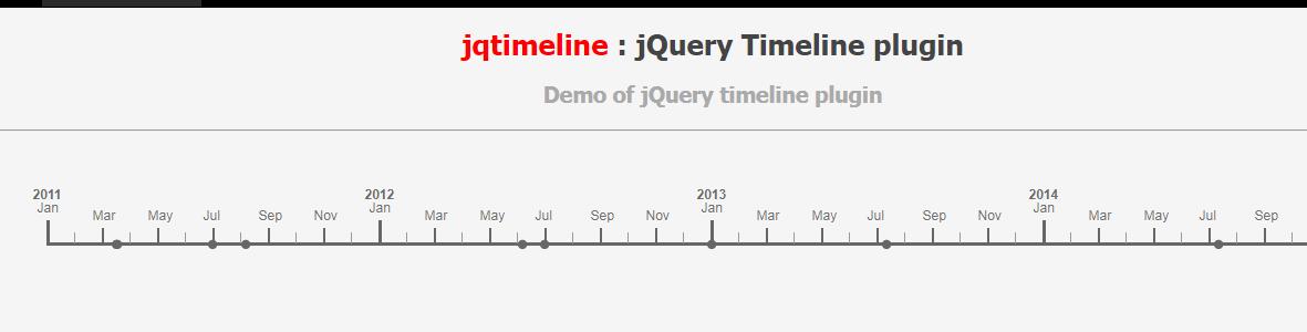 时间轴插件jquery.jqtimeline