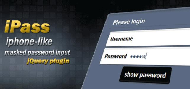 显示当前正在输入密码后自动隐藏