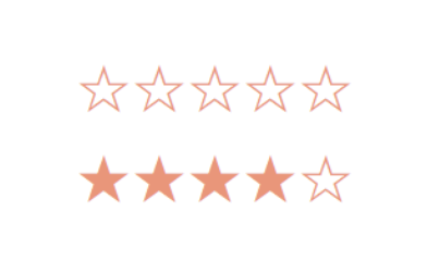 jQuery五角星评分