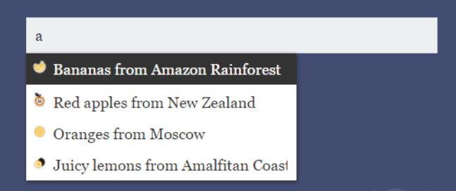 js模糊搜索插件fuzzysearch