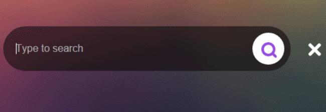 JQuery+CSS3超炫酷搜索框