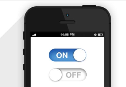 仿iOS6样式开关插件iOS6Switch.js