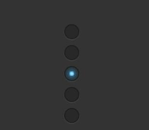 发光的动态竖直单选框