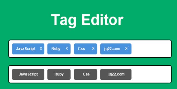 标记编辑器插件Tag Editor