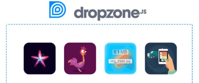 文件拖拽上传插件DropzoneJS