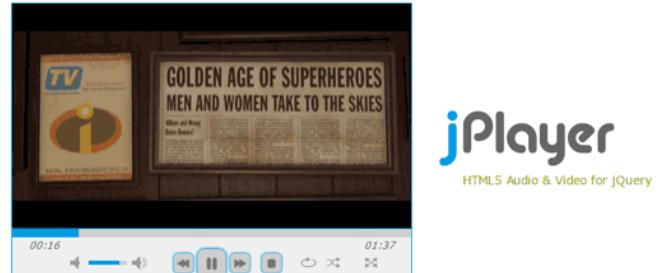 jquer视频插件jPlayer