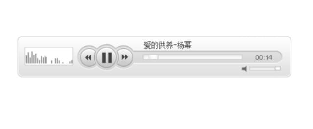 音乐播放器插件