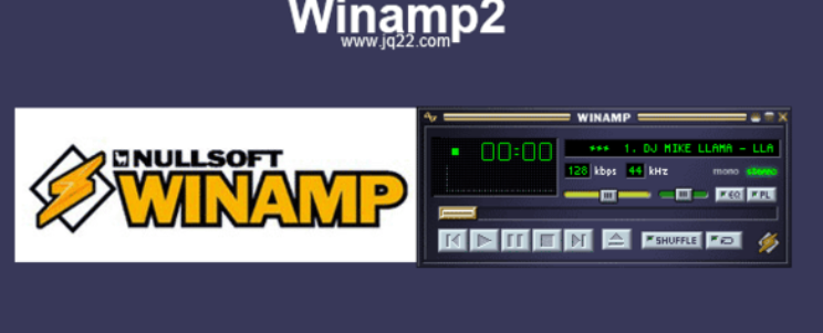 jQuery实现Winamp2播放器插件