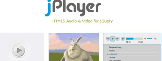 HTML5音频视频库-jPlayer