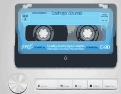 HTML5磁带音乐播放器-CASSETTE PLAYER