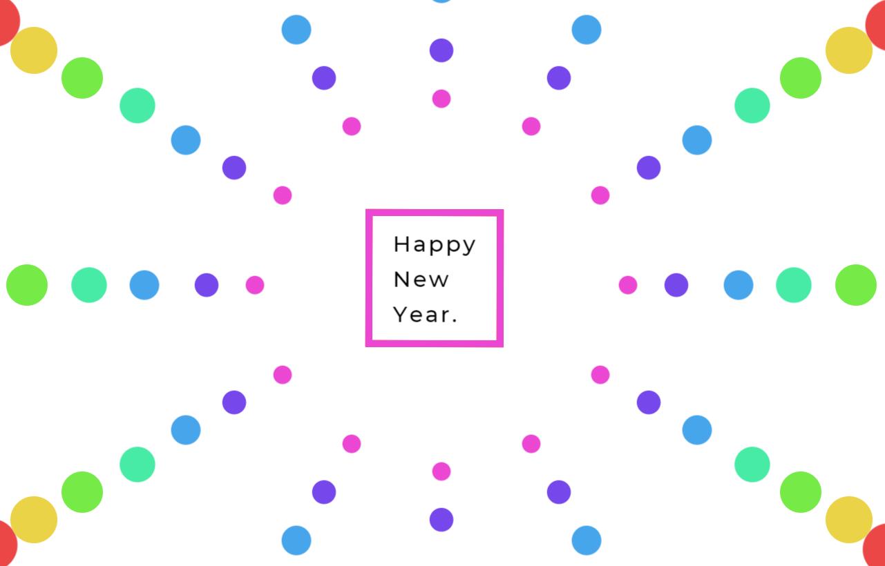 新年快乐主题动画特效