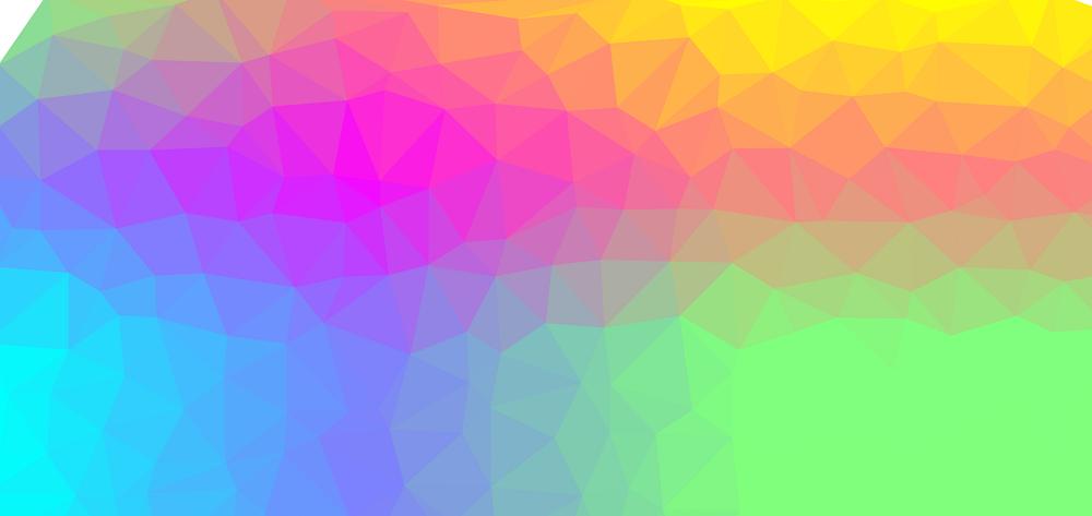 彩色的菱形结构背景特效