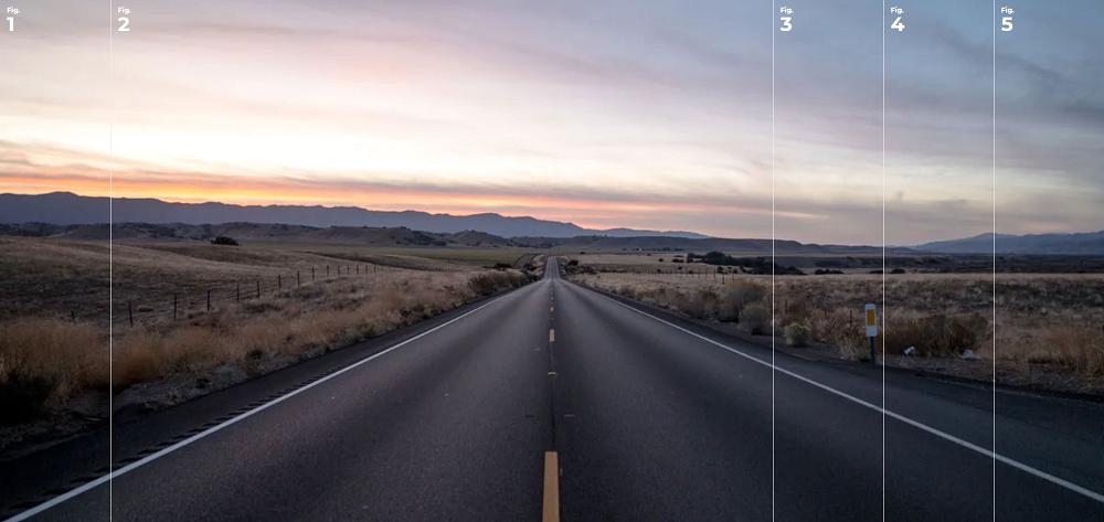 全屏的手风琴幻灯片切换html5特效