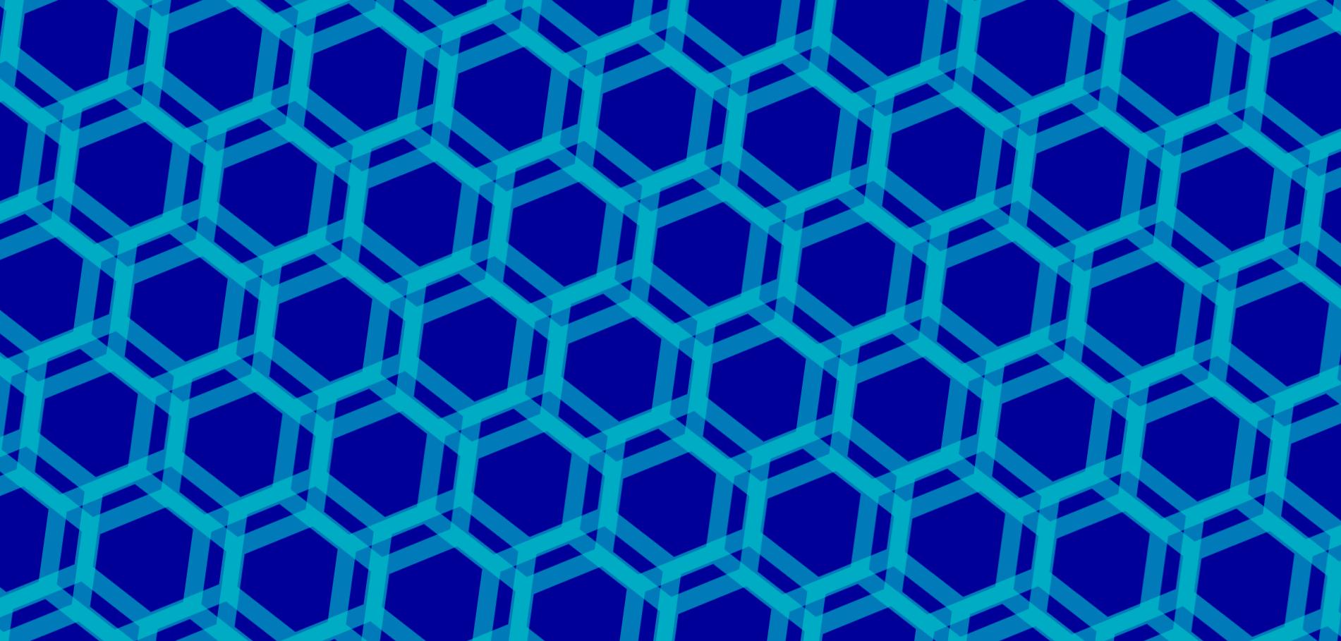 网格六边形图案svg特效